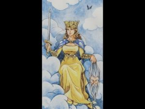 Внутренний смысл и толкование аркана Таро Королева Мечей