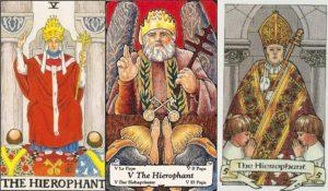 Внутренний смысл и толкование аркана Таро Верховный Жрец (Иерофант)