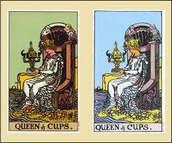 Внутренний смысл и толкование аркана Таро Королева Кубков