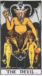 Значение и толкование аркана Таро Дьявол