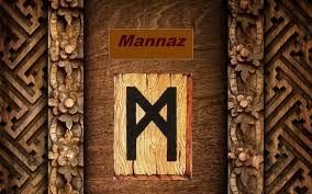 Значение и магические свойства руны Манназ