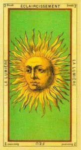 Значение и толкование аркана Таро Солнце